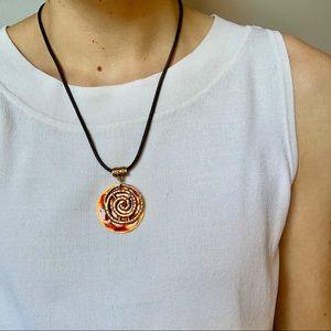 Golden tortoiseshell Chico's Necklace